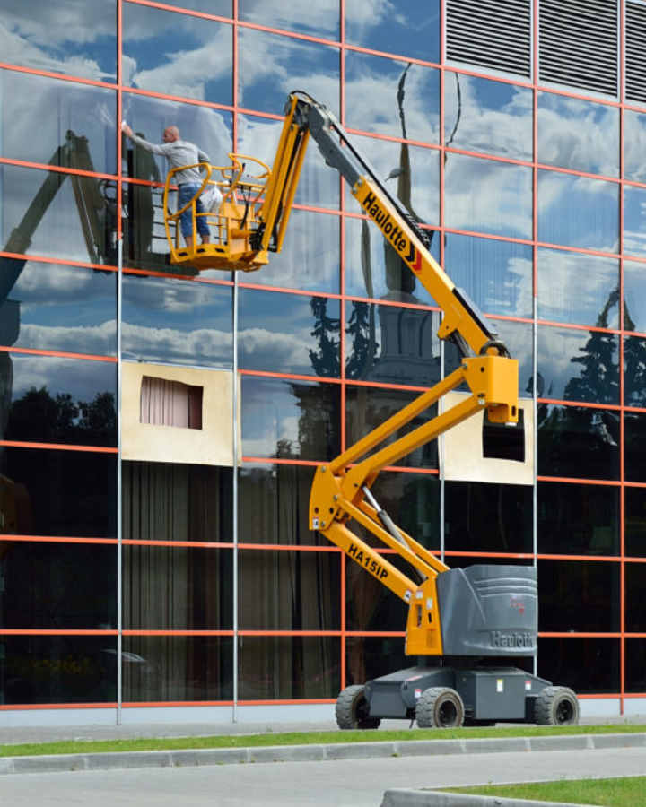 aerial work Platforms for maintenance industry in bangalore