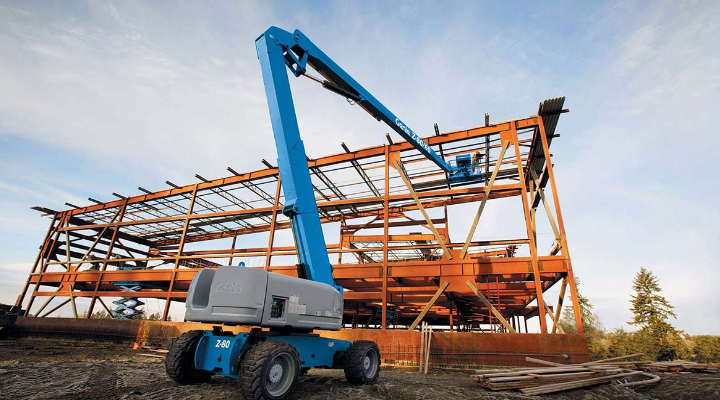 Swastik Corpation Offers Boom Lifts For Rental