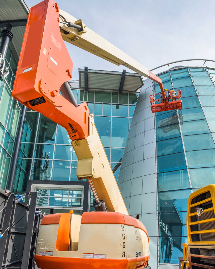 boom lift rental and hire in bangalore | aerial work platform