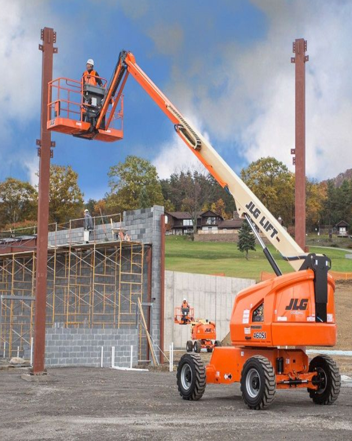 telecopic boom lift rental and hire in bangalore | aerial work platform